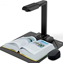 $823 » 20MP Book Image Document Scanner Camera, Book & Document Camera, Auto Flatten & Deskew Tech, Capture Size A3/A4/A5, Multip...