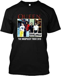 Queen Adam Lambert 2019 t Shirt The Rhapsody Tour 2 Queen Shirt
