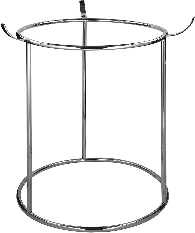 Fink - Stnder für Adventskranz CGoldna - Metall vernickelt -  30 cm - Hhe 70 cm