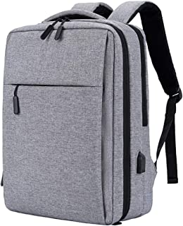 WJTWJSD Backpack Urban Casual Backpack College Student Outdoor Bag, Male and Female College Computer Bag Suitable for 16 inch laptops and Travel Bags Briefcases (Color : Gray)