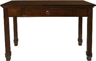 New Classic Furniture Tamarack Desk, Brown Cherry