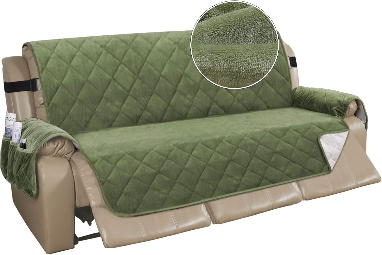 Inventory cleanup Max 43% OFF selling sale Recliner Sofa Cover Velvet Couch Covers Slipcover