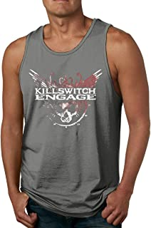 AHDDO Black Adventurous Killswitch Engage Men's Tank Top