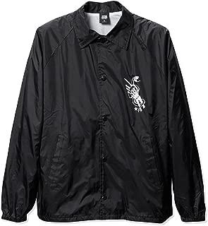 Original Sin Coach Black White Screenprint Windbreaker Men's Jacket