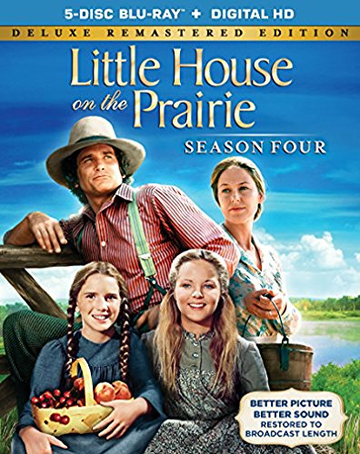 Little House On The Prairie Season 4 Deluxe Remastered Edition [Blu-ray]