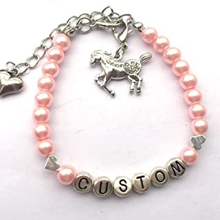 Best personalized horse name bracelets Reviews