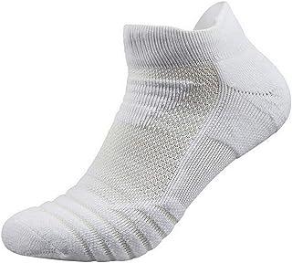 Calcetines de deporte para hombre, tobilleros, gruesos, para baloncesto, casuales, al aire libre, correr, calcetines de bádminton