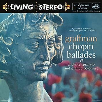 Chopin: Four Ballades/Andante Spianato And Grande Polonaise Brillante