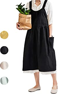 Best japanese linen apron dress Reviews