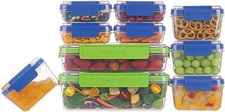 SnapLock by Progressive 20-Piece Container Set, 2, Multicolored