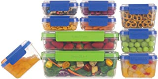SnapLock by Progressive SNL-20SETBBB 20-Piece Container Set, Multicolored