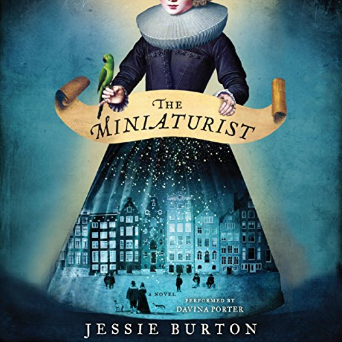 The Miniaturist audiobook cover art