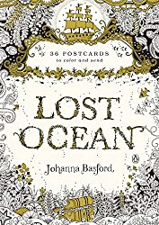 lost ocean coloring postcards