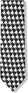 Men's Black & White Microfiber Dentist Teeth Necktie Neck Tie Neckwear