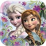 Disney Frozen - Square Dinner Plates ディズニー凍結 - スクエアディナープレート♪ハロウィン♪クリスマス♪