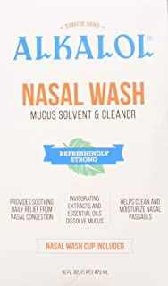 Alkalol Nasal Wash Kit 16 Fluid ounce (Pack of 5)