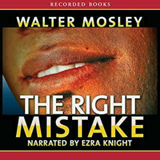 The Right Mistake audiobook cover art
