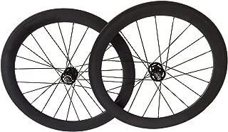 LOLTRA Carbon Track Bike Wheelset Fixed Gear 24/38/50/60/88 Clincher Carbon Bike Wheels 20/24 Holes