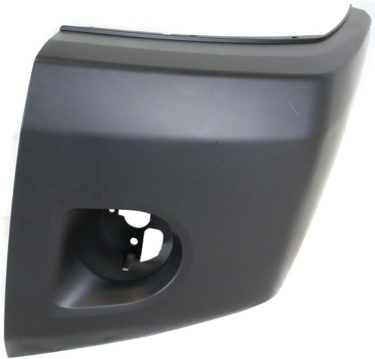 店舗 Bumper End Cap Compatible with 2008-2015 Titan Front Left Nissan 年中無休