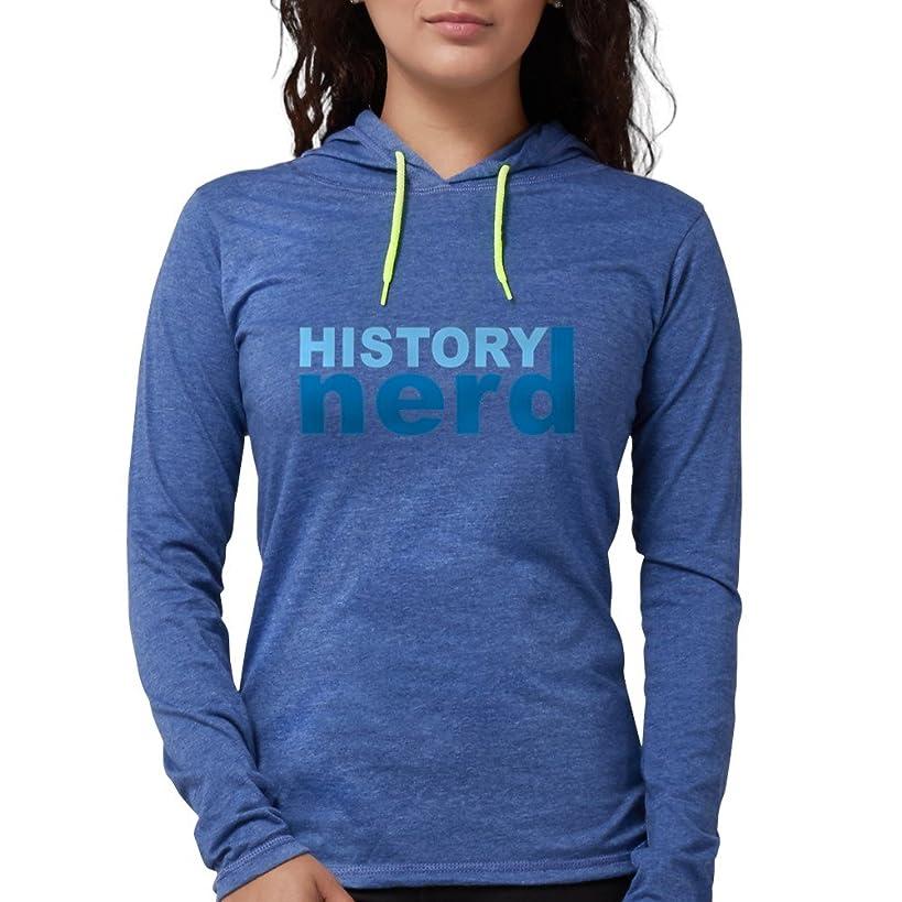 CafePress - History Nerd Long Sleeve T-Shirt - Womens Hooded Shirt
