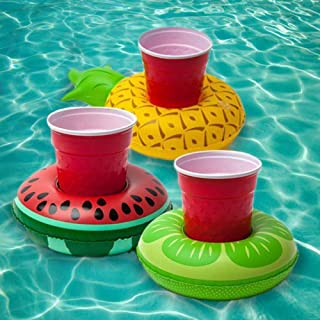 Big Mouth Toys BMDF-TR Tropical Fruit Beverage Boats, Multi-colored