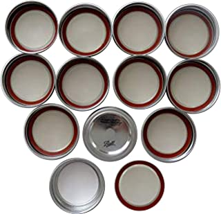 wide mouth mason jar lids with bands