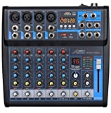 Best Usb Mixers - Audio2000'S AMX7322-Professional Six-Channel Audio Mixer with USB Interface Review