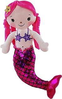 Elka Australia 8921-PK Mermaid Doll Toy, Pink, 30 Centimeters