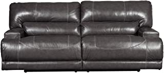 Signature Design by Ashley McCaskill Oversized Power Recliner, Gray