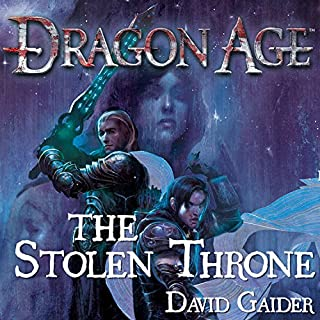 Dragon Age: The Stolen Throne cover art