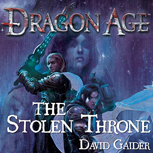Dragon Age: The Stolen Throne audiobook cover art