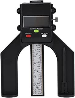 Yosoo 0-80mm Digital Depth Guage Height Gauge with Self Standing Magnetic Feet for Router Table