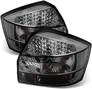 For 02-05 Audi A4/S4 4DR Sedan (B6/8E/8H) Smoked Lens LED Tail Lights Rear Brake Lamps Left+Right Pair