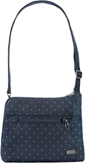 حقيبة كتف بحزام كروس نحيفة من Pacsafe Women's Daysafe Anti-Theft