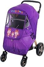 Cierre de cremallera Tokkids Protector de lluvia universal para silla de paseo Protege a tu beb/é de la lluvia y el viento