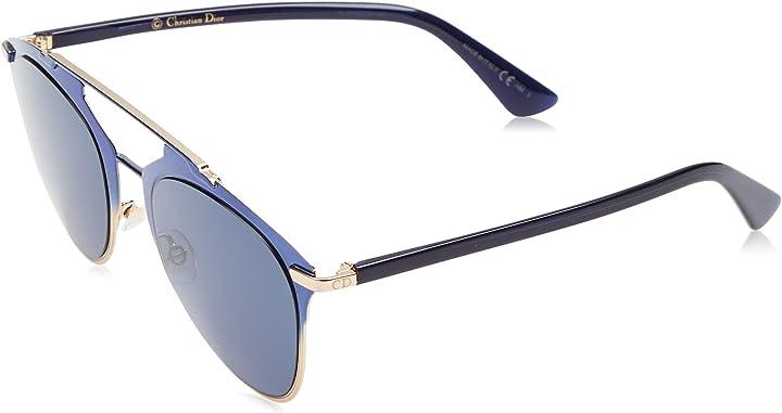 Occhiali dior da sole, blu (bluette/bluette avio), 52 donna dior diorreflected ku tvw