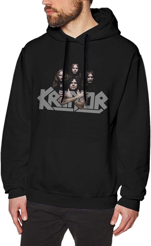 Teen Man Kreator Hooded Sweatshirt Topics on TV Pullover Long Financial sales sale Sleeve Sweatshi