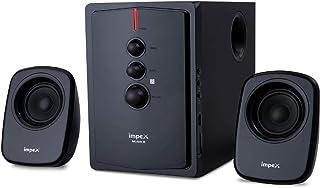 Impex 2.1 MUSIK-R 40 W Portable Multimedia Bluetooth Hometheater Speaker System (Black)