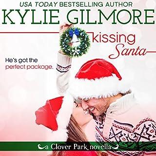 Kissing Santa audiobook cover art