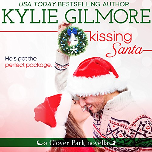 Kissing Santa audiobook cover art