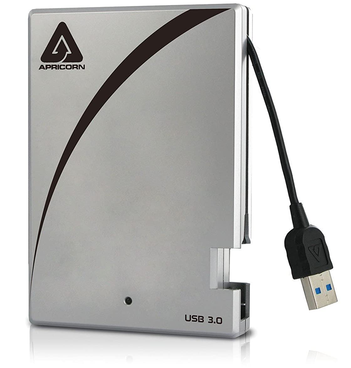 ハンドブック個人的なスタンドApricorn Aegis Portable 3.0 USB 500 GB Drive with Integrated USB Cable (A25-3USB-500) [並行輸入品]