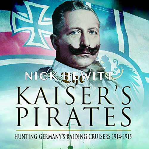 The Kaiser's Pirates audiobook cover art