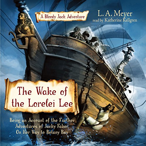 The Wake of the Lorelei Lee audiobook cover art