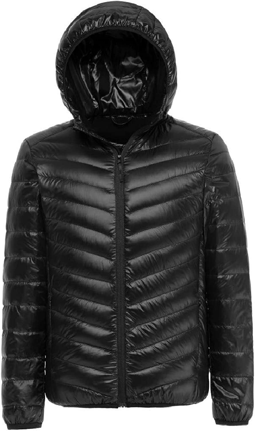 - Abetteric Mens Lightweight Winter Winter Winter Hood Short Mini Warm Down Jacket Overcoat 5da1f1
