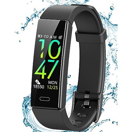 Smartwatch Sportuhr Armband Blutdruck Fitness Tracker Pulsuhr für Samsung Huawei