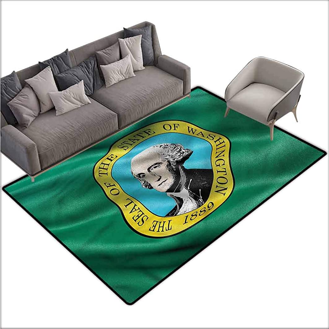 Polyester Rubber Door Mats American,The State of Washington 60