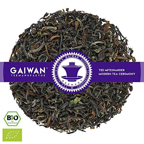 N° 1132: Tè nero biologique in foglie 'Darjeeling Seeyok Inbetween FTGFOP1' - 100 g - GAIWAN® GERMANY - tè in foglie, tè bio, tè nero dall'India