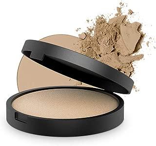 INIKA Baked Mineral Foundation Powder All Natural Make-up Base, Vegan, Hypoallergenic, Dermatologist Tested, Halal, 8g (Strength)