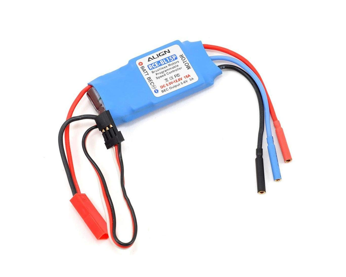 ALHES15P01 AGNHES15P01 RCE-BL15P Brushless ESC w El Paso Mall Mode Governer H Manufacturer direct delivery