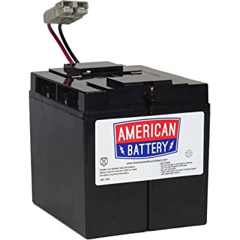 UPSBatteryCenter APC Smart-UPS 1500 DLA1500 Compatible Replacement Battery Pack